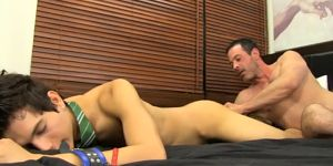 Huge Thick Uncut Gay Cock Porn Movies Mike Binds Up And