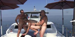 Off Shore Gang Bang - Part 2