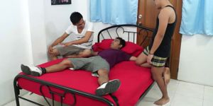 Asian Boy Franco Tied And Tickled