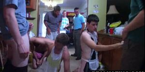 Two Frat Boy Hunks Sucking And Tugging Some Cocks
