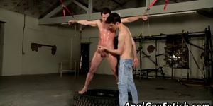 Tips For Gay Bondage Full Length Hung Boy Made To Cum H