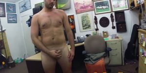 Straight Pawnshop Customer Paid To Jerk Off