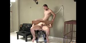 Barebacking Latino Dudes Into Bondage