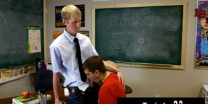 Hot Twink Scene Ace Sterling Stands At The Front Of The