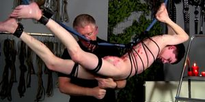 Male Film Stars In Bondage Master Sebastian Kane Has Th