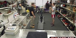 This Guy Went To Pawn His Training Gear But Turned Into