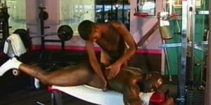 Black Gay Men At The Gym