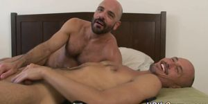 Bald Bear Barebacks Asian