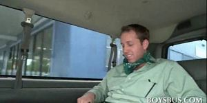 Blindfolded Guy Tricked Into Gay Bj In Bus