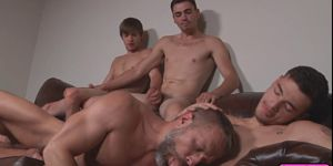Dirk Caber Gets Stuffed By Johnny Rapid Trevor Spade An