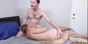 Landons Ass Is Being Rammed By Dennis With His Big Dick