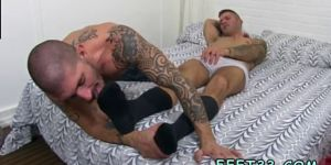 Teen Boy Skater Feet Gay Caleb Gets A Surprise Foot Job