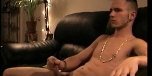 Amateur Straight Boy Adam Gets Handjob