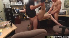 Cute Baseball Fan Sucks Dick And Gets His Ass Fucked By Two Hunk Dudes