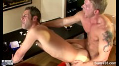 Sexy Gay Gets Ass Licked And Humped