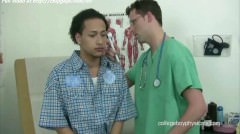 Sexy Latina Gay With Medical Man