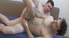 Cock Hungry Guy Sucks His Cock And Gets Hot Cum In His Butt
