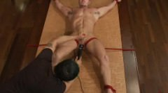 Stud Gets Strapped Down