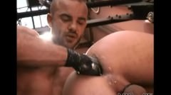 Great Gay Fist Session Gay Porn Gays Gay Cumshots Swallow Stud Hunk