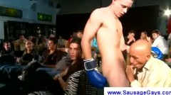 Gay Cowboy Spurting His Jizz On Audience