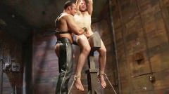 Hot Slave Boy Gets His Ass Punished