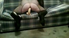 Guy In Full Body Stockings Rides A Big Part2