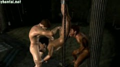 Animated Gays Jerking And Sucking Their Cocks