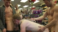 Public Ass Pounding In A Porn Store