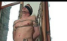 Gay Male Slave Gets Blindfolded Humiliated Tied Up And Tortured By His Dominating Partner