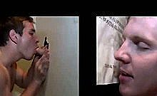 Gullible Straight Guy Tricked Into Gay Blowjob At The Gloryhole2