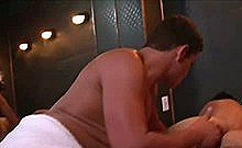 Straight Hunk Visits Sauna House And Gets Hard For Cock