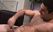 Gorgeous And Hairy Professor From College Gets Horny