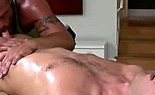 Mature Gay Masseur Sucks Fit Straight Guy S Horny Cock