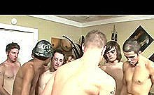 Hot Young Gay Guy Gang Banged Bareback By Group Of Sexy Young Gay Guys