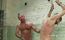 Twink Boys Held In Dirty Cells By Gay Doctor Who Loves To Torture Them With Toys And His Cock