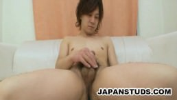 Masato Hino - Handsome Hairy-ass Nippon Stud Stroking His Puny Cock