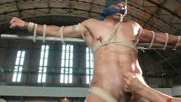 Gay Edge Play With A Tied Up Hunk