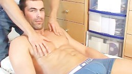 Nicolas, Straight French Guy Get Wanked In Spite Of Him.