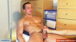 A French Straight Soccer Guy Get Wanked His Huge Cock By A Guy...