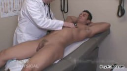 Dr Dean Examines A Cute Small Dick Muscle Boy