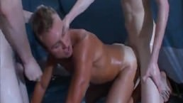 Hot Sweaty Sex (threesome)