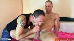 Room Service Guy Gets Sucked By A Client In Spite Of Him !