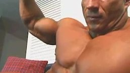 Musclegod Bodybuilder Worshiped
