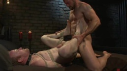 Gay Couple Have Kinky Sex In A Dungeon