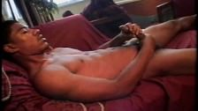 Young Two-handed Black Wank Pro