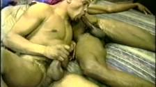 Sucking And Wanking Ebony Friends