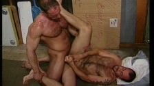 Two Hot Males Fucking In A Factory