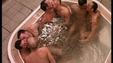 Hot Gay Sauna Group Sex