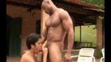 Gay Latino Muscle Black Top