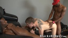 Dallas Wood Getting Fucked By Black Guys